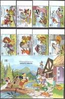 Walt Disney  MiNr. 1468 - 1477 (Block 177) Malediven  MNH / ** / POSTFRISCH - Disney