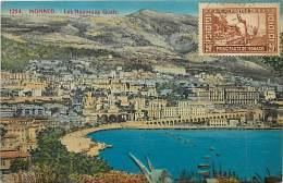 Ref  B975- Monaco - Les Nouveaux Quais - Carte Bon Etat    - - Non Classés
