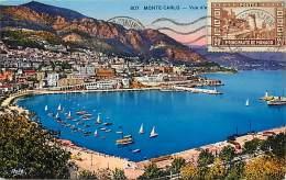 Ref  B974- Monaco - Vue D Ensemble - Carte Bon Etat    - - Non Classés