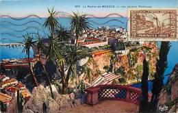 Ref  B973- Monaco - Vu Des Jardins Exotiques  - Carte Bon Etat    - - Non Classés