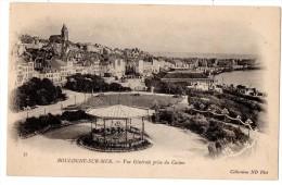 CP, 62, BOULOGNE-sur-MER, Vue Générale Prise Du Casino, Dos Simple, Vierge - Boulogne Sur Mer