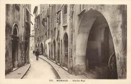 Ref  B954- Monaco - Vieille Rue  - Carte Bon Etat - - Non Classés