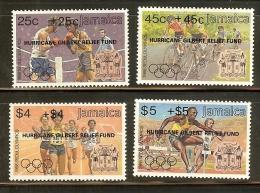 JAMAICA HURRICANE GILBERT RELIEF FUND SEOUL OLYMPICS 1988 SEMI POSTAL MNH !! - Summer 1988: Seoul