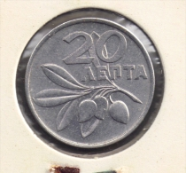 GRECE GREECE 20 LEPTA 1973 KM# 105 - Greece