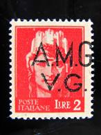 """ITALIA Trieste AMG-VG -1945- """"tipo Imperiale"""" £. 2 Varietà MNH** (descrizione) - 7. Triest"""