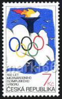 Czech Republic - 1994 - Centenary International Olympic Committee - Mint Stamp - Tschechische Republik