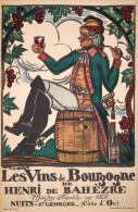 @@@ MAGNET - Les Vins De Bourgogne - Publicitaires
