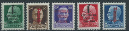 Italia Repubblica Sociale 1944 * - Soprastampati 5v - 1944-46 Lieutenance & Humbert II