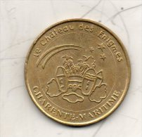 Médaille Touristique. Chateau Des Enigmes. Pons (17) 2000. Cote 16€ - Monnaie De Paris