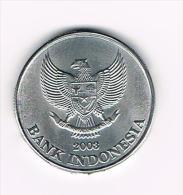 � INDONESIE  500  RUPIAH  2003