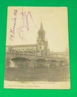 Baccarat - Eglise Et Pont Avant La Guerre - Baccarat