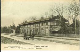 CPA  LAMOTHE-DU-TEICH  La Gare 10915 - France