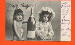 Prosit Neujahr (pli Coin Gauche) -  AUTRICHE Enfants - Enfants