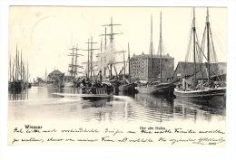 WISMAR - Der Alte Hafen - Ed. Reinicke & Rubin, Magdeburg - Wismar