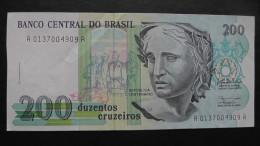 Brazil - 200 Cruzados - 1992 - P 229 - XF - Look Scans - Brésil