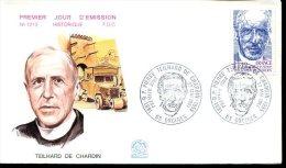 FDC 23/05/81 : TEILHARD De CHARDIN - Schrijvers