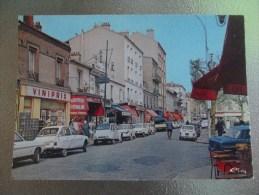 Alfortville Rue Vaillant Couturier Commerces Voitures Anciennes - Alfortville