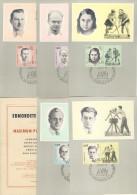 DDR Maximumkarte Michel No. 983 - 987 Ersttagsstempel
