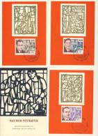 DDR Maximumkarte Michel No. 1014 - 1016 Ersttagsstempel
