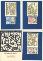 DDR Maximumkarte Michel No. 1017 - 1019 Ersttagsstempel