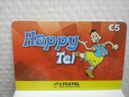PrepaidCard Belgium Hppy Tel Lycatel Used Rare