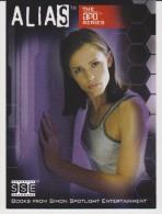 Inkworks Promo Card ALIAS TV Series 2004 JENNIFER GARNER As Sydney Bristow - Alias