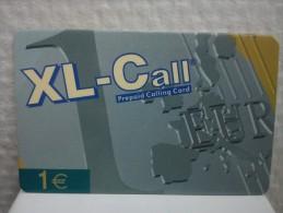 XL-Call Promo Card (Mint,Neuve)2 Photo's Rare