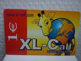 XL-Call Promo Card (Mint,Neuve)2 Photo�s Rare