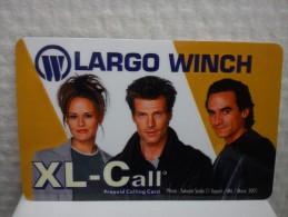 XL-Call Promo Card Largo Winch (Mint,Neuve)2 Photo�s Rare