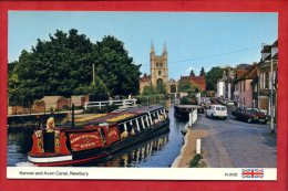 * Kennet And Avon Canal, NEWBURY - 1987 ( Automobiles Et Péniche ) - Angleterre