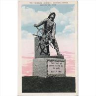 EUDTP0761C-LFD1616TPRPES.T ARJETA POSTAL DE ESTADOS UNIDOS(USA).Monumento Al Pescador.GLOUCESTER MASS.Massachusetts - Pesca