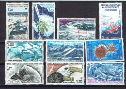 TAAF, PETIT LOT DE 10 Valeurs, Neufs / Mint. R2355 - Colecciones & Series