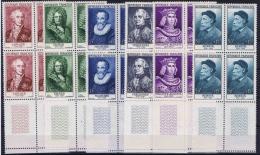 France 1955 Yvert 1027 - 1032 Bord De Feuille, MNH/** Cat Valuer € 640 +++) - France