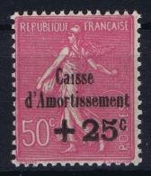 France 1929 Yvert 254  MNH/** /neuf - Caisse D'Amortissement