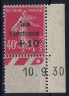 France 1930 Yvert  266 Coin Date   MNH/** /neuf - Caisse D'Amortissement