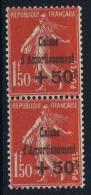 France 1931 Yvert  277 Paire   MNH/** /neuf - Caisse D'Amortissement