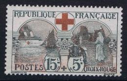 France 1918 Yvert 156  MNH/** /neuf  Croix Rouge - Frankrijk