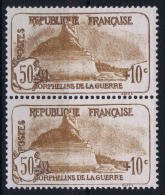 France 1926 Yvert 230  Paire  MNH/** /neuf - France