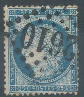 Lot N°27066   Variété/n°60, Oblit GC 2610 NARBONNE (10), Filet SUD - 1871-1875 Ceres