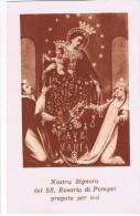 Santino Della Madonna Del Santissimo Rosario Di Pompei (Napoli) - Santini