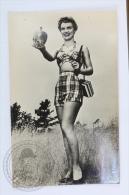 1940´s Real Photo Postcard - Actress Marion Marshall - Mujeres Famosas