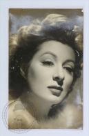 1940´s Real Photo Postcard - Actress Greer Garson - Mujeres Famosas