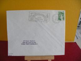 Flamme + Timbre - 13 Bouches Du Rhône, Tarascon,Centre De Sélection N°9 - 6.8.1979 - - Marcophilie (Lettres)