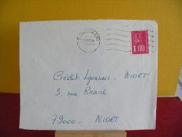 Flamme + Timbre - 13 Bouches Du Rhône, Marseille Gare - 15.2.1977 - - Marcophilie (Lettres)
