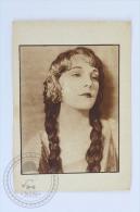 Old Trading Card/ Chromo Topic/ Theme Cinema/ Movie  - Leatrice Joy, Silent Movie Actress - Chocolate