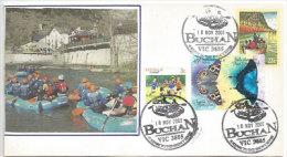 AUSTRALIE. Canoë-Kayak  Sur La Buchan &  Snowy River. Belle Lettre De Buchan. Victoria. - Kano