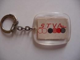 "Porte-clefs ""STVA"" Des Années 1970 - Ferrovie"