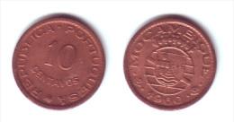 Mozambique 10 Centavos 1960 - Mosambik