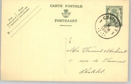 080306 ARMS 35c [1935 ] - POSTAL CARD1COUILLET1//[7DOTS]>CHATELET - Postcards [1909-34]