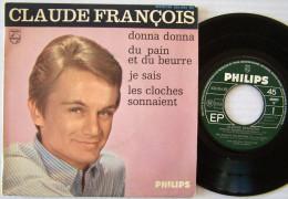 Claude FRANCOIS  7 ème EP Donna Donna ( Le Petit Garçon )  Imp J COLOMBET - 45 Rpm - Maxi-Single
